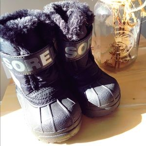 Sorel snow commander toddler snow boot